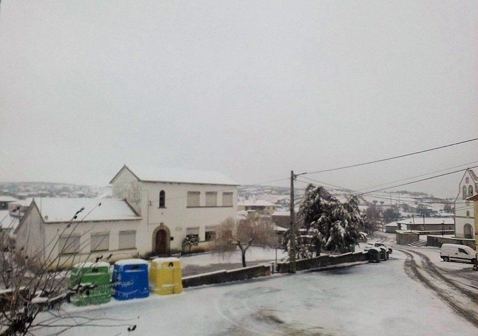 Talhas, coberta pela neve